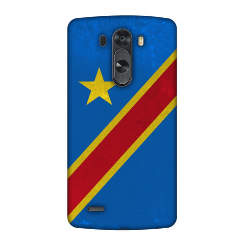 Love For Congo DR Slim Hard Shell Case For LG G4