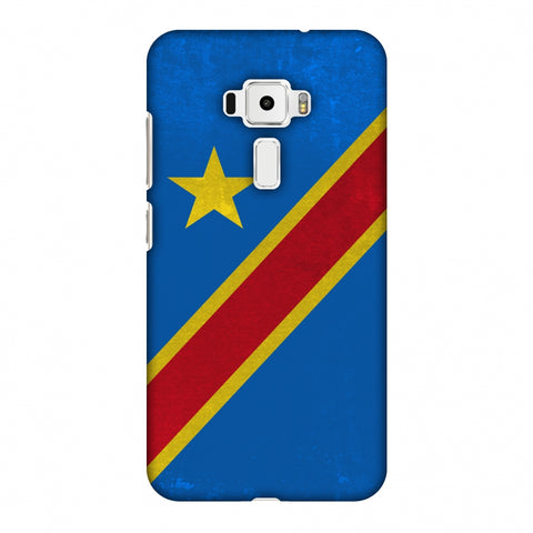 Love For Congo DR Slim Hard Shell Case For Asus Zenfone 3 ZE520KL