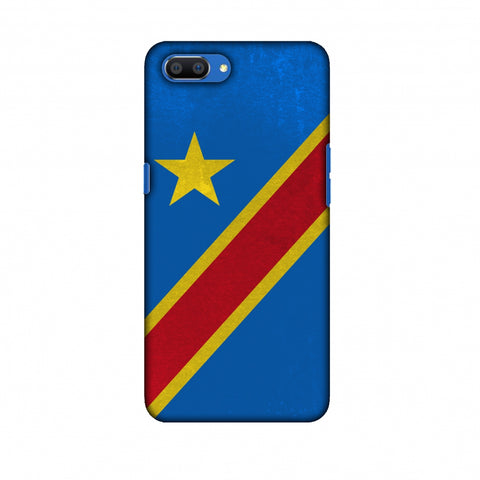 Love For Congo DR Slim Hard Shell Case For Oppo Realme C1