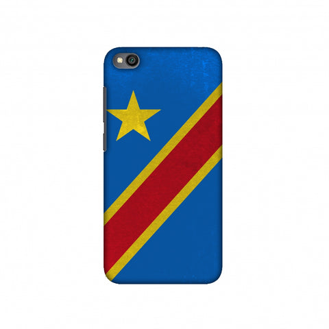 Love For Congo DR Slim Hard Shell Case For Redmi Go