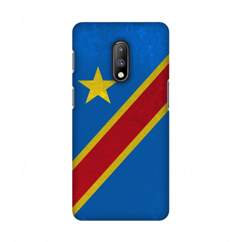 Love For Congo DR Slim Hard Shell Case For OnePlus 7