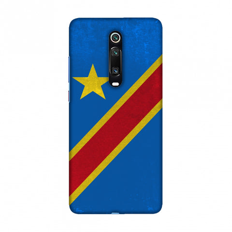 Love For Congo DR Slim Hard Shell Case For Redmi K20/K20 Pro