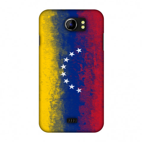 Love For Venezuela Slim Hard Shell Case For Micromax Canvas 2 A110