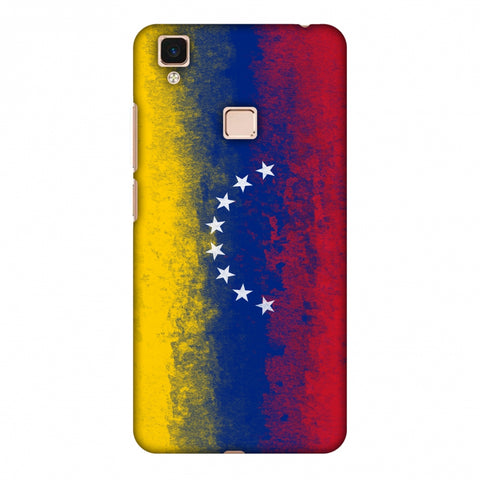 Love For Venezuela Slim Hard Shell Case For Vivo V3 Max