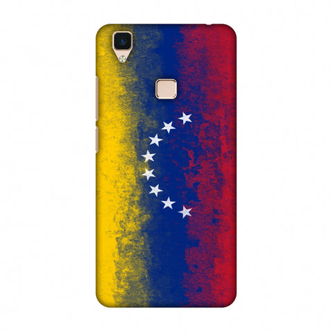 Love For Venezuela Slim Hard Shell Case For Vivo V3