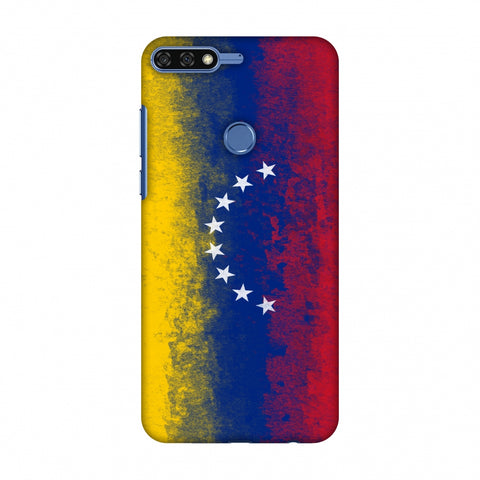 Love For Venezuela Slim Hard Shell Case For Huawei Honor 7C