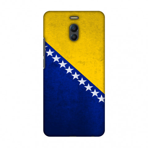 Love For Bosnia and Herzegovina Slim Hard Shell Case For Meizu Note 6