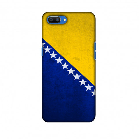 Love For Bosnia and Herzegovina Slim Hard Shell Case For Oppo Realme C1