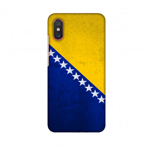 Love For Bosnia and Herzegovina Slim Hard Shell Case For Xiaomi Mi 8 Pro