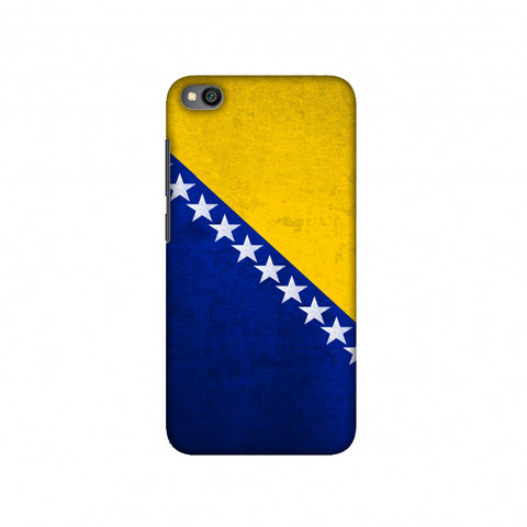 Love For Bosnia and Herzegovina Slim Hard Shell Case For Redmi Go