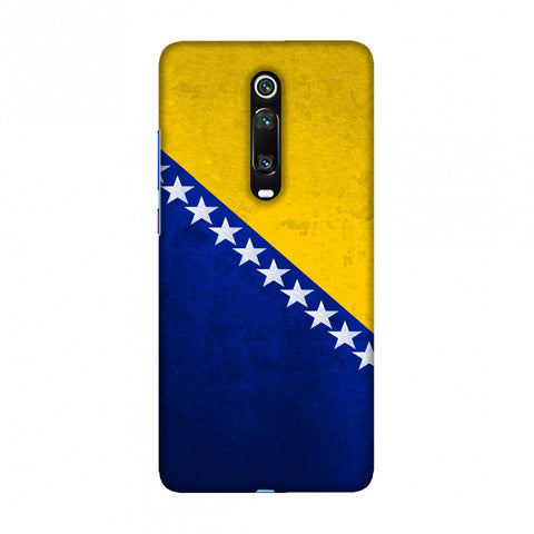 Love For Bosnia and Herzegovina Slim Hard Shell Case For Redmi K20/K20 Pro