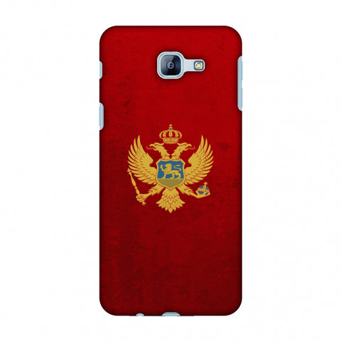 Love For Montenegro Slim Hard Shell Case For Samsung Galaxy A8 2016