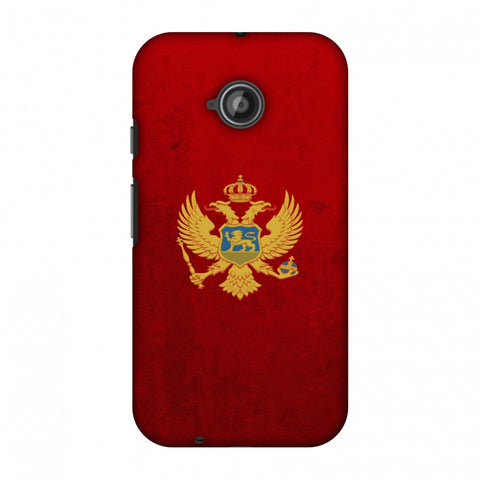 Love For Montenegro Slim Hard Shell Case For Motorola Moto E 2nd Gen