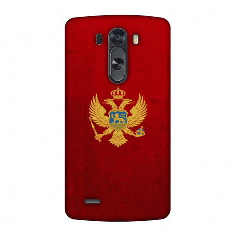 Love For Montenegro Slim Hard Shell Case For LG G4