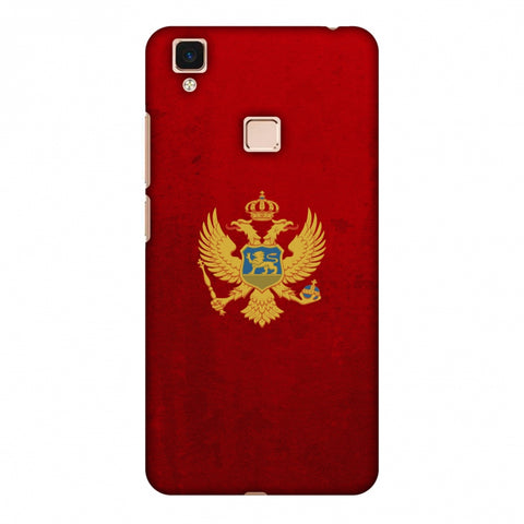 Love For Montenegro Slim Hard Shell Case For Vivo V3 Max