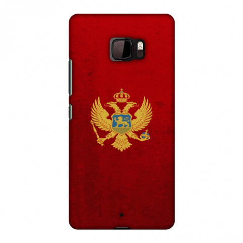 Love For Montenegro Slim Hard Shell Case For HTC U Ultra