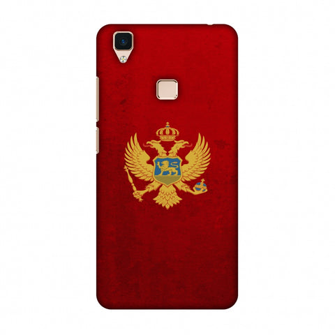 Love For Montenegro Slim Hard Shell Case For Vivo V3