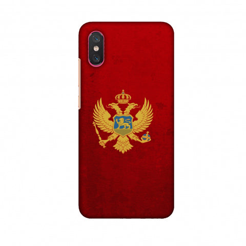 Love For Montenegro Slim Hard Shell Case For Xiaomi Mi 8 Pro