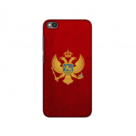 Love For Montenegro Slim Hard Shell Case For Redmi Go