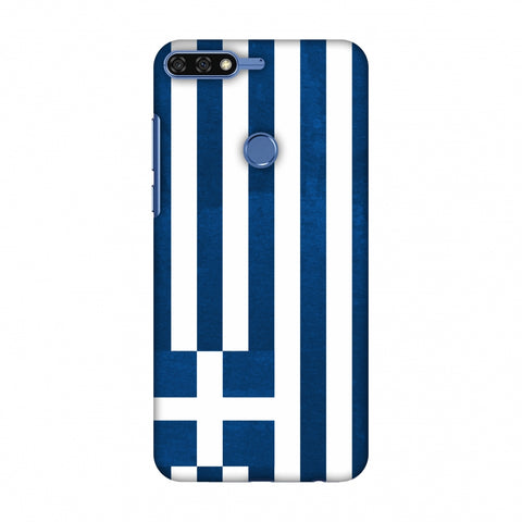 Love For Greece Slim Hard Shell Case For Huawei Honor 7C