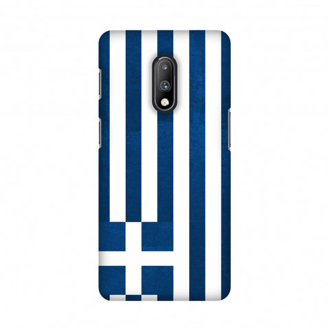 Love For Greece Slim Hard Shell Case For OnePlus 7