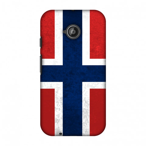 Love For Norway Slim Hard Shell Case For Motorola Moto E 2nd Gen