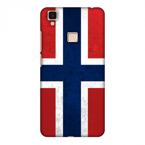 Love For Norway Slim Hard Shell Case For Vivo V3 Max