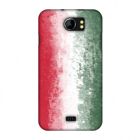 Love For Hungary Slim Hard Shell Case For Micromax Canvas 2 A110