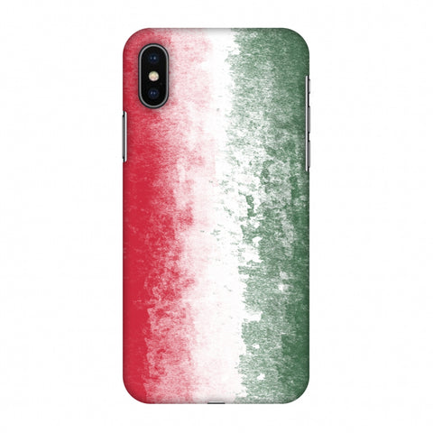 Love For Hungary Slim Hard Shell Case For Apple iPhone X