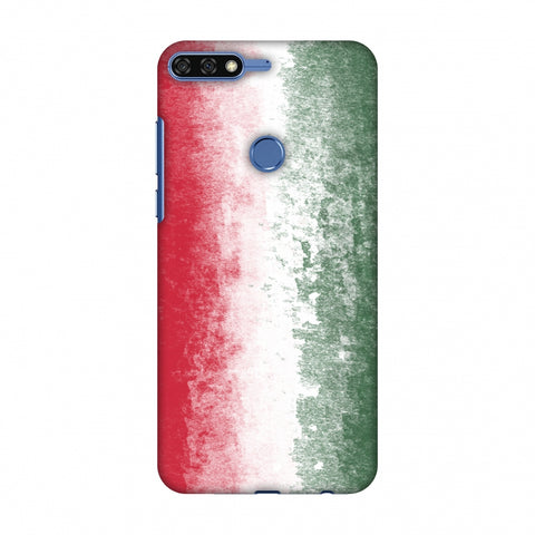 Love For Hungary Slim Hard Shell Case For Huawei Honor 7C