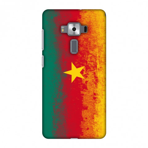Love For Cameroon Slim Hard Shell Case For Asus Zenfone 3 Deluxe ZS570KL