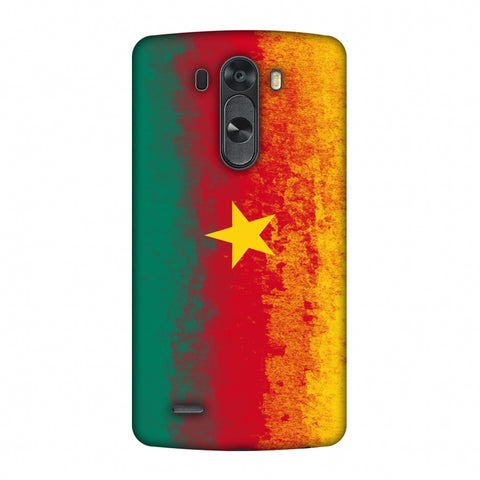 Love For Cameroon Slim Hard Shell Case For LG G4