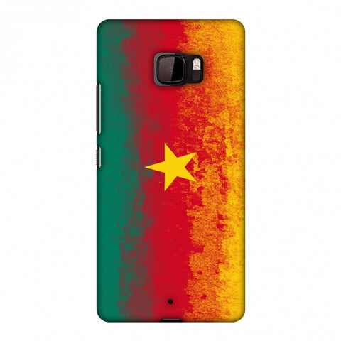 Love For Cameroon Slim Hard Shell Case For HTC U Ultra