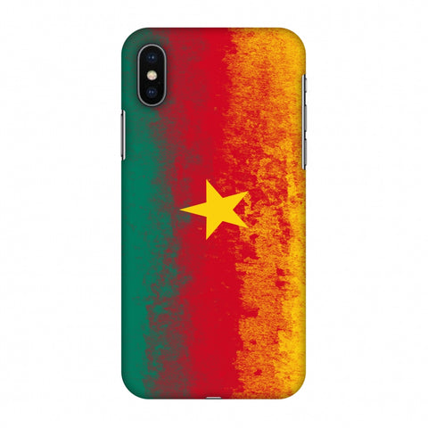 Love For Cameroon Slim Hard Shell Case For Apple iPhone X