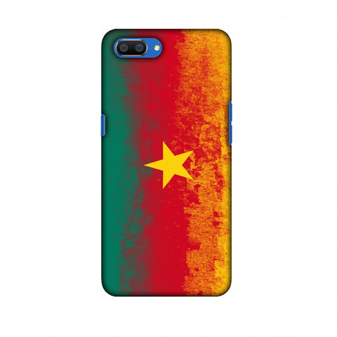 Love For Cameroon Slim Hard Shell Case For Oppo Realme C1