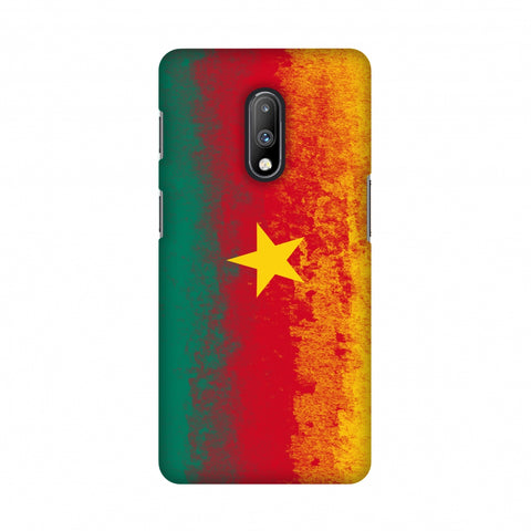 Love For Cameroon Slim Hard Shell Case For OnePlus 7