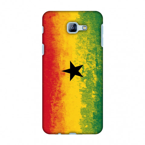 Love For Ghana Slim Hard Shell Case For Samsung Galaxy A8 2016