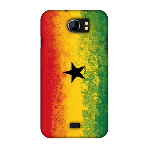 Love For Ghana Slim Hard Shell Case For Micromax Canvas 2 A110
