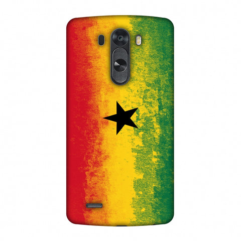 Love For Ghana Slim Hard Shell Case For LG G4
