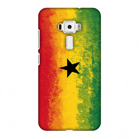 Love For Ghana Slim Hard Shell Case For Asus Zenfone 3 ZE520KL