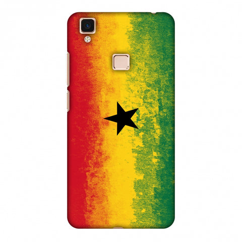 Love For Ghana Slim Hard Shell Case For Vivo V3 Max