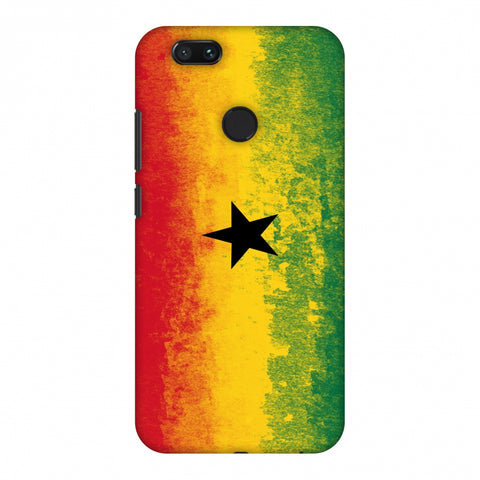 Love For Ghana Slim Hard Shell Case For Xiaomi MI A1-5X