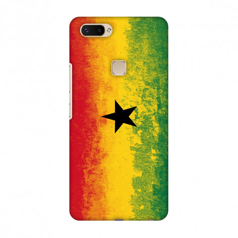 Love For Ghana Slim Hard Shell Case For Vivo X20 Plus