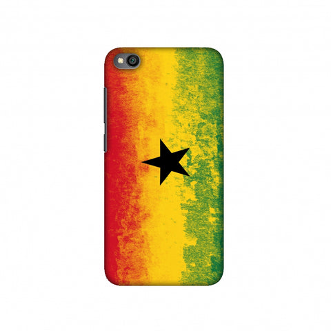 Love For Ghana Slim Hard Shell Case For Redmi Go