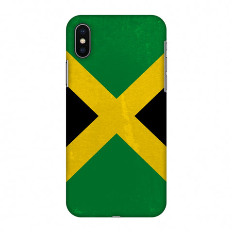 Love For Jamaica Slim Hard Shell Case For Apple iPhone X