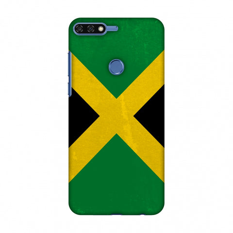 Love For Jamaica Slim Hard Shell Case For Huawei Honor 7C