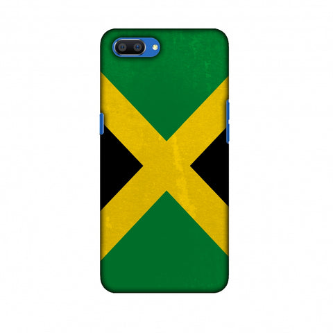 Love For Jamaica Slim Hard Shell Case For Oppo Realme C1