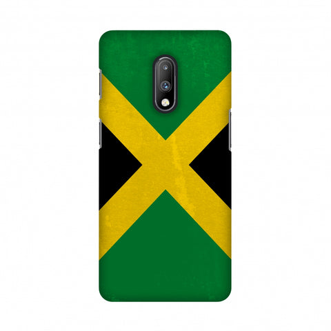 Love For Jamaica Slim Hard Shell Case For OnePlus 7