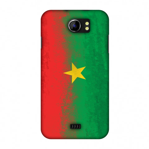 Love For Burkina Faso Slim Hard Shell Case For Micromax Canvas 2 A110