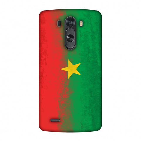 Love For Burkina Faso Slim Hard Shell Case For LG G4